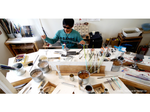 【新潟・新潟市】とんぼ玉作り~彩り豊かなとんぼ玉でオリジナルアイテムを作ろう!手ぶらでお越しください!