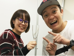 [Osaka sandblasting experience] of trying to design a glass in the sandblasting × deco image