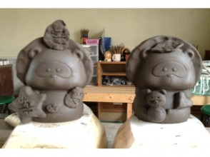 【Shigaraki · Shigaraki Ceramic Experience】 Pictures of pottery experiences (about 90 minutes) with ease of stamping