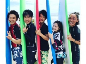 【 Tokushima · Komatsu ~ Shishido ~ Naruto】 surfing One Sun trial lesson ♪ I can get on the wave for the first time!