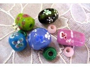 【群馬県・嬬恋村】ガラス細工体験~とんぼ玉を使ってアクセサリーを作ろう!手ぶらでOK!