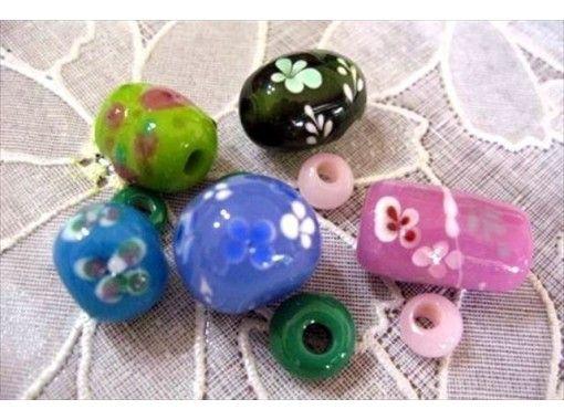 【群馬県・ガラス細工体験】とんぼ玉を使ってアクセサリーを作ろう