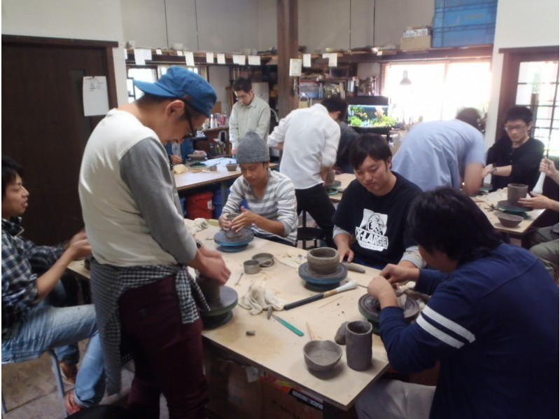 [Fukushima Prefecture Bandai Town] Enjoy a full-fledged pottery experience in nature! (Two courses) Empty by hand!