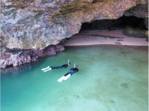[โอะกินะวะอิชิกากิเกาะ] ดำน้ำจุดไฟสีฟ้าถ้ำและน้ำตกขนาดเล็กป่ารักษา AM · PM ครึ่งวันทัวร์