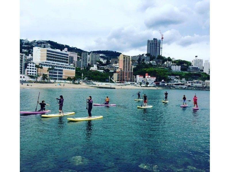 【静岡県・SUP体験】通常プラン!熱海でSUP体験したい方におすすめの90分コース!SUP体験の紹介画像
