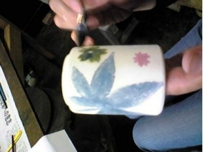 [山形縣陶器經驗]自由地從簡單的模式設計,以豐富多彩的!繪畫經驗