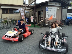 【Iwate Prefecture · Rental Cart】 First challenge to cart ride! Image of 15-minute rental cart plan