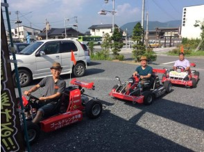 【Iwate Prefecture · rental cart】 thrilling full point! Drive the public road by riding the cart. 2 hour rental cart plan image