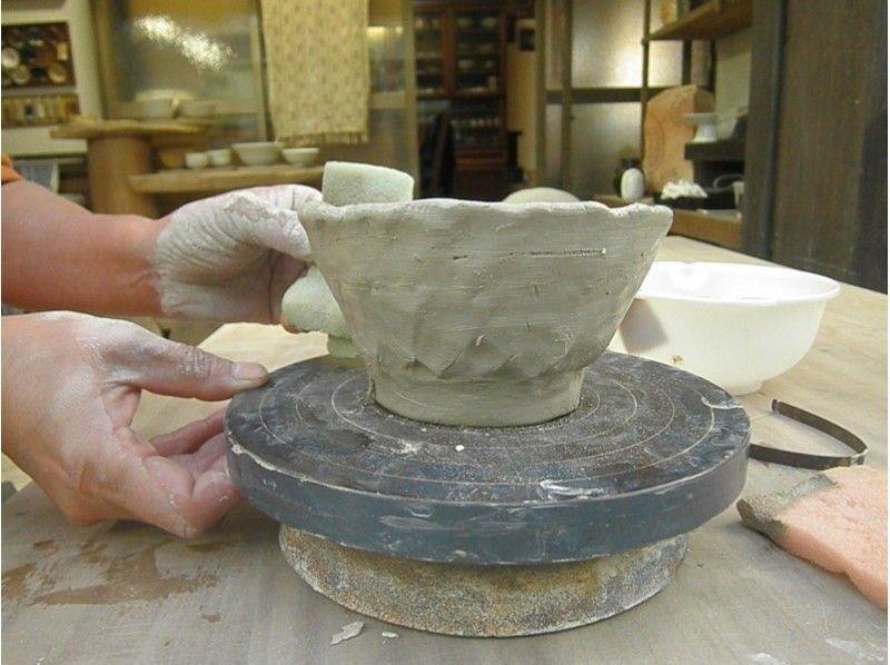 "【Shonan · Kamakura】 Making the original commitment ""Matcha tea bowl"" in ancient city · Kamakura Ceramic art experience! Introduction image of"