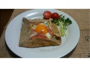 【Nagano · Azumino City · Culinary Experience】 Fashionable French cuisine! Picture of making Galette