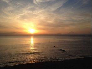 [Kanagawa Miura] - while watching the sunset Nbiri SUP! Luxury Sunset plan [2 hours]