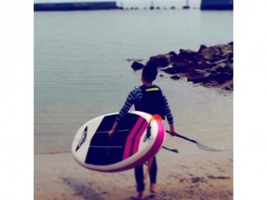【静岡県・熱海】SUPボード&パドル半日(6時間)レンタル≪経験者向け≫の画像