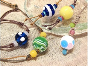 [Ishikawa Prefecture craft experience] of trying to make the accessories in beautiful dragonfly ball image