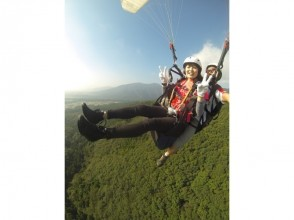 [Tochigi, Nasu] image of paragliding experience (tandem flight course)