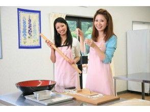 【三重県・蕎麦作り体験】蕎麦粉で蕎麦打ちを体験しようの画像