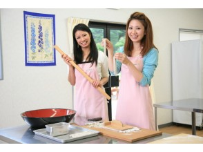 Let's experience the Soba in [Mie Prefecture soba making experience] buckwheat flour