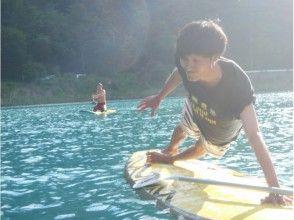 【山梨県/本栖湖 絶景の富士山とサップコアトレーニング体験】(体幹トレーニング、コアトレ)