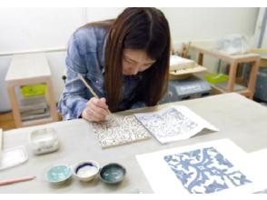 """[神奈川/橫濱]在日本製作罕見的""""波斯瓷磚陶藝體驗""""銘牌/鐘面!"""