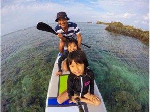 【沖縄・名護】沖縄のきれいな海をのんびり満喫!SUP初心者コース[90分]の画像