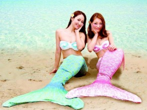 [Okinawa Ishigaki Island] enjoy the mood mermaid princess! Mermaid Photo & snorkeling experience (1 day course)