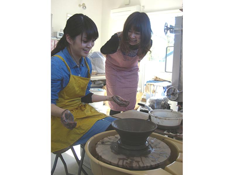 【Ishikawa · Kanazawa】 Electric powered potter's real ceramics experience! Introduction image of