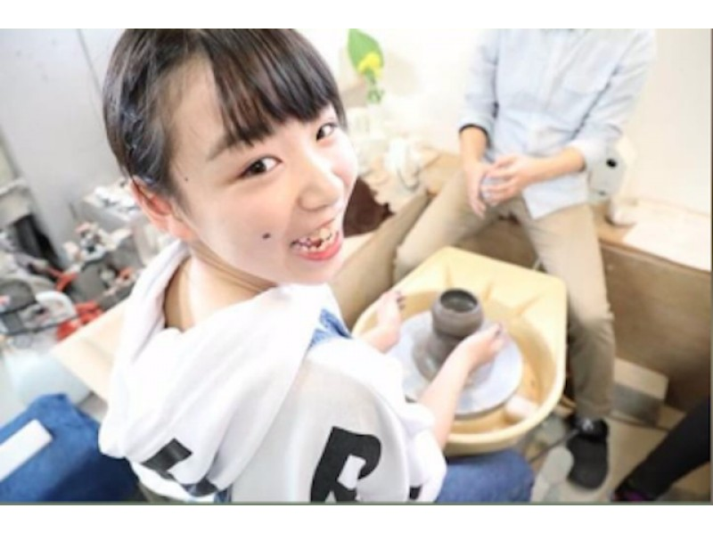 [Ishikawa/ Kanazawa] Full-fledged pottery experience with an electric wheel! Beginners and children are welcome! Enjoy with your family! (With a shuttle bus)