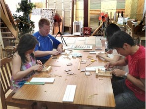 "【Kyoto · Kamigyo-ku】 In the long-established store founded in the Taisho era, images of making original ""My Bamboo Chopsticks Set"""