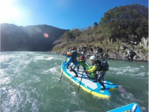 [Kumamoto Kuma River] can be in the torrent is only here! Monster SUP experience! (Course morning) [extra large SUP]