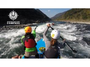 【熊本・球磨川】激流でできるのはここだけ!モンスターSUP体験!【特大SUP】(午後コース)の画像