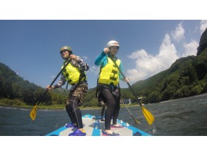 [Kumamoto Kuma River] can be in the torrent is only here! Monster SUP experience! [Extra large SUP (Course afternoon)