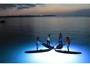 Is [Okinawa Onna] Okinawa wear is slow time? I would play at night ★ Night SUP experience course ★