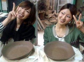 [Tokushima Prefecture hand beauty batter Pottery Experience] to mend the bowl by hand beauty Neri in Otani baked pottery image