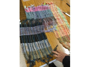【Tokyo · Sendagaya】 Flexibility perfect score! Image of making stylish hand-woven stole · table center