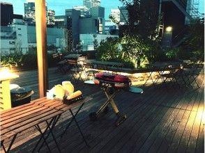【東京・銀座】都心のオアシスを満喫!完全貸切プライベートBBQ!【最大40名】の画像