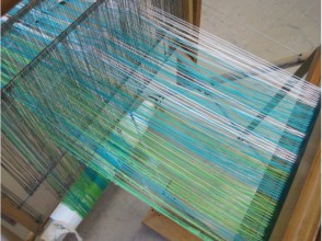 【Miyagi · Sendai】 Have fun with your own way! Image of making a hand-woven stole or table center