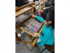 【Kyoto · Higashiyama Ward】 Produce work freely and comfortably! Image of making a hand-woven stole or table center