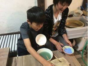 【広島・竹原】小さな子どもから大人まで手軽に楽しめる陶芸体験(絵付け)の画像