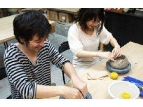 【大阪・南森町】気軽に1日陶芸体験!手回しロクロで好きなアイテムをつくろうの画像