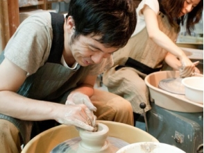 [Osaka Minamimorimachi] feel free to 1 day ceramic art experience! Image of Let's Make a favorite item in the electric potter's wheel
