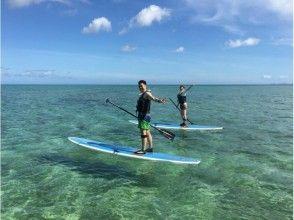 【沖縄北部 本部町】美しいサンゴ礁の海をスタンドアップパドル(サップ)とシュノーケリングで堪能!の画像
