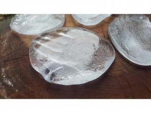 """[Yamanashi/ Otsuki] Glasswork experience-memories of the whole family! """"Baby footprint production"""" reservation OK on the On the day, please come empty-handed!"""