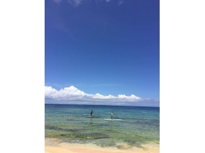 [Okinawa Yomitan] happily progress in one-on-one lesson! Private SUP Experience]