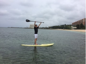 [Okinawa Yomitan] to those who want to aim the SUP improvement of technology! [SUP School]