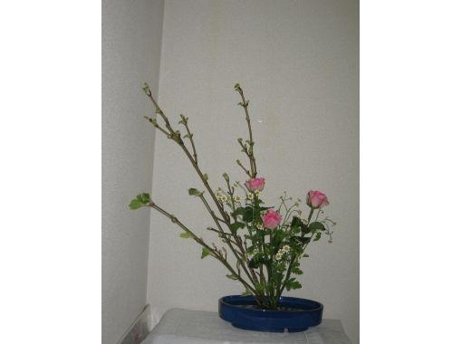 【滋賀・草津】日本の伝統文化に触れてみよう!「未生流生け花」を体験