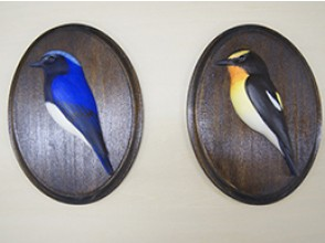 [Shizuoka Prefecture woodworking experience] realistic feel the life finish! Challenge to bird carving! Image of