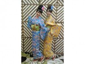 【沖縄・着物レンタル】涼しげな浴衣で沖縄満喫! ゆかたコースの画像