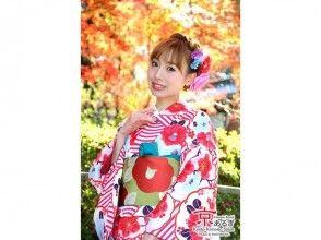 【大阪・着物レンタル】着付け込みでこの価格! 大人気の京あるきコースの画像