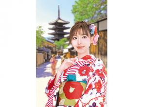 【大阪・梅田・着物レンタル】着付け込みでこの価格! 大人気の京あるきコース
