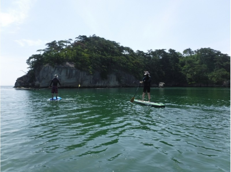 [Miyagi ・ Matsushima】 Touring Japan's Three Scenic Sites! First SUP experience