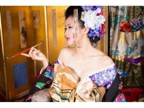 【大阪・心斎橋】花魁体験 桔梗(ききょう)コース★写真プレゼントあり★の画像